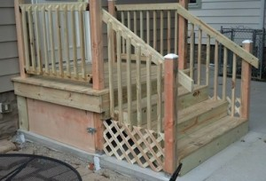 Handrail installation Milwaukee