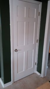 Interior Door Installation After